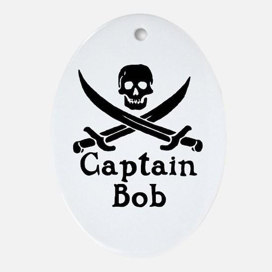 Captain Bob Ornament (Oval)