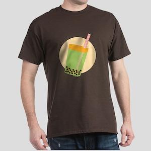 Boba Tea Moon Dark T-Shirt