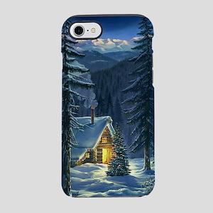 Christmas Snow Landscape iPhone 7 Tough Case