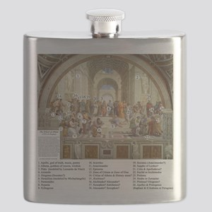 Who is in The School Of Athens Flask