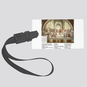 Who is in The School Of Athens Luggage Tag