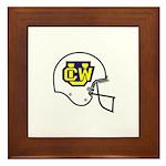 CalWestern Football Framed Tile