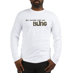 scrapbook bling 2 Long Sleeve T-Shirt