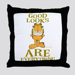 Good Looks are Everything! Throw Pillow