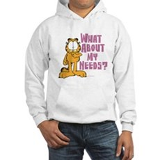 What About My Needs? Hooded Sweatshirt