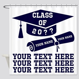 Class Of 20?? Shower Curtain