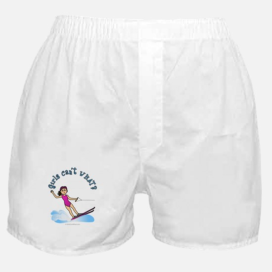 Light Water Skiing Boxer Shorts