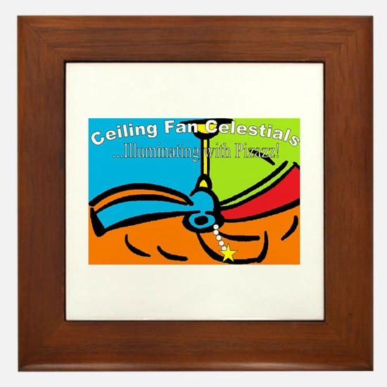 Ceiling Fan Celestials Framed Tile