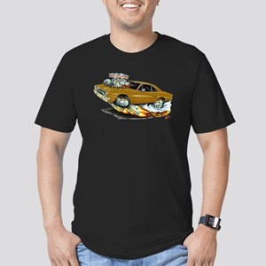 1970 Roadrunner Brown Car Men's Fitted T-Shirt (da