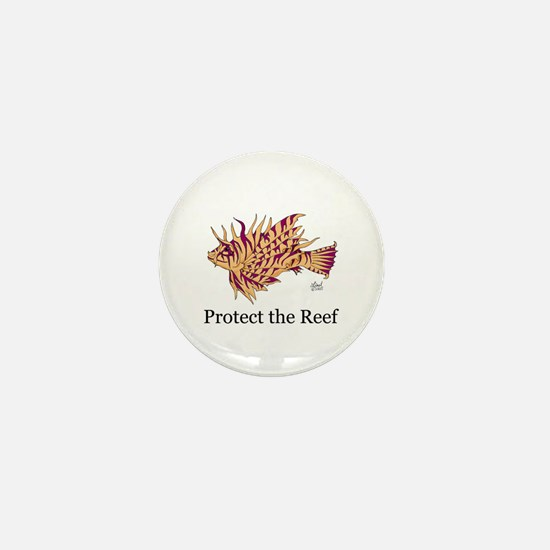 Protect the Reef Mini Button