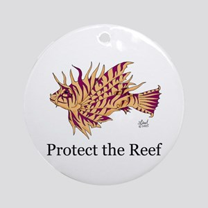 Protect the Reef Ornament (Round)