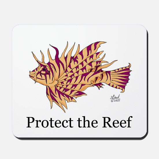 Protect the Reef Mousepad