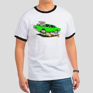 1970 Roadrunner Green Car Ringer T
