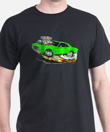 1970 Roadrunner Green Car T-Shirt
