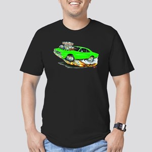 1970 Roadrunner Green Car Men's Fitted T-Shirt (da