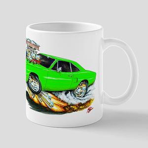 1970 Roadrunner Green Car Mug