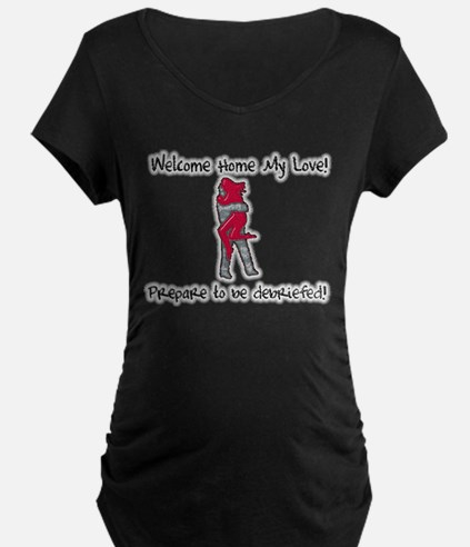 Funny Us army girlfriend T-Shirt