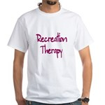 Recreation Therapy White T-Shirt