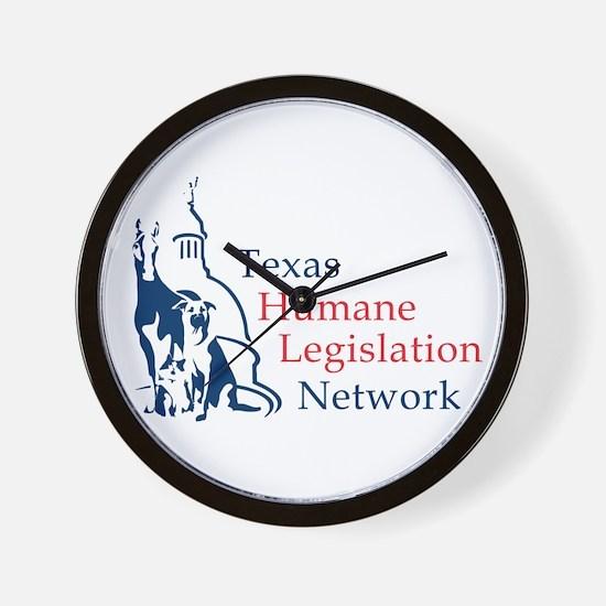 THLN logo Wall Clock