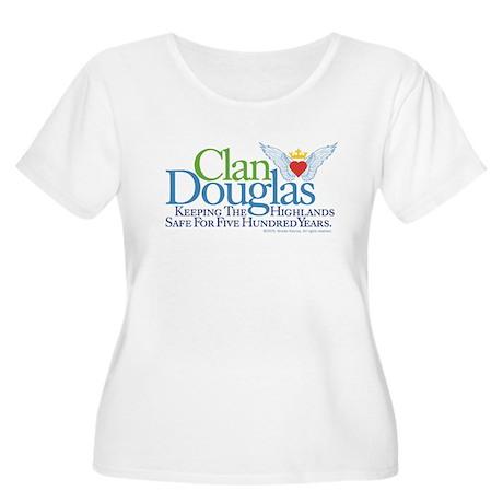 Safe Women's Plus Size Scoop Neck T-Shirt