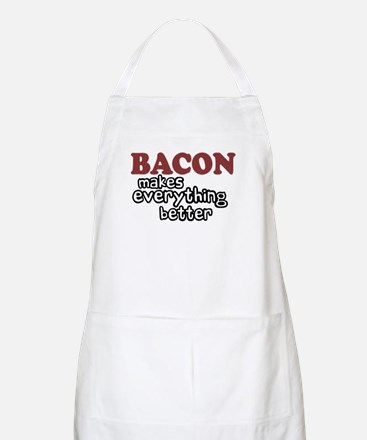 Bacon Makes Everything Better BBQ Apron
