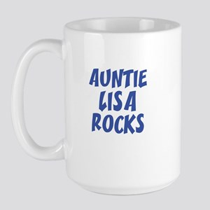 AUNTIE LISA ROCKS Large Mug