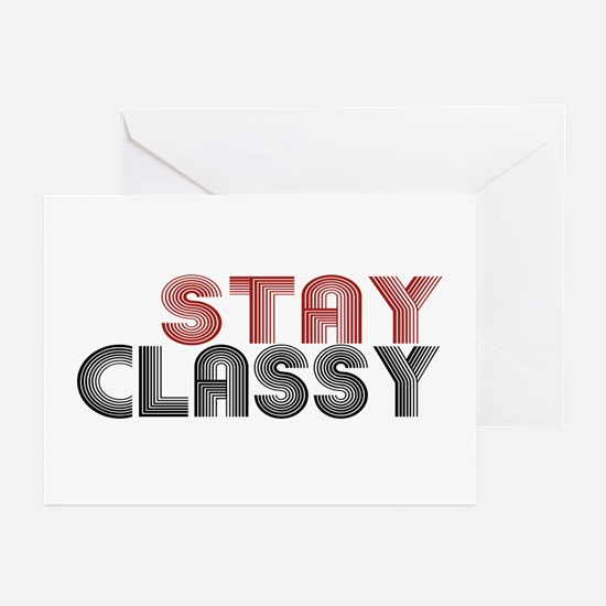 Stay Classy Greeting Cards (Pk of 20)