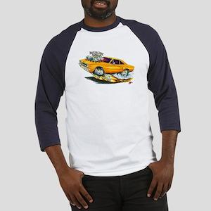1970 Roadrunner Orange Car Baseball Jersey
