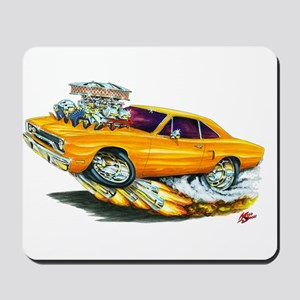 1970 Roadrunner Orange Car Mousepad