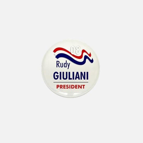 Giuliani 08 Mini Button