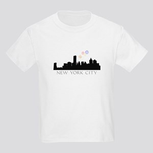 Fireworks over NYC Kids Light T-Shirt