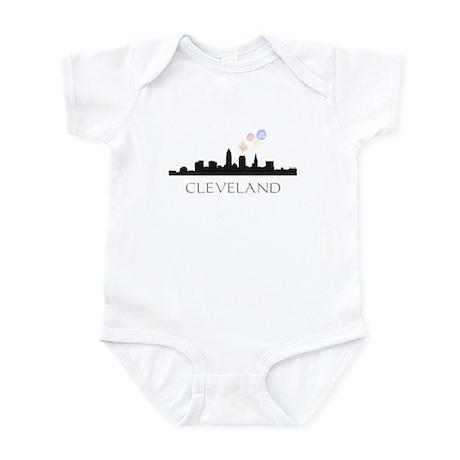 Fireworks Over Cleveland Infant Bodysuit