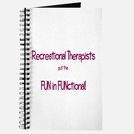 Recreational Therapist Journal