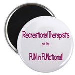 """Recreational Therapist 2.25"""" Magnet (10 pack)"""
