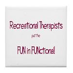 Recreational Therapist Tile Coaster