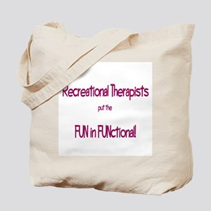 Recreational Therapist Tote Bag