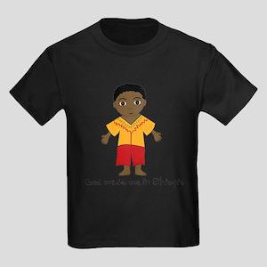 Made Me in Ethiopia-Boy Kids Dark T-Shirt