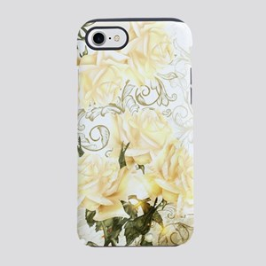 Artistic Yellow Roses iPhone 7 Tough Case