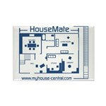 MyHouse Rectangle Magnet
