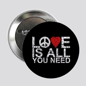 "Love Is All 2.25"" Button"