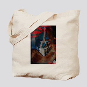 Balance in the Face of Constr Tote Bag