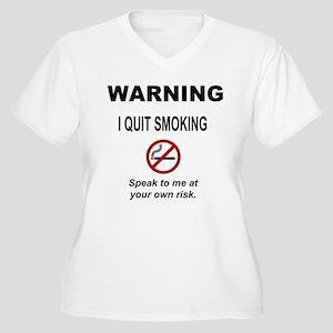f407dc0f5 Quit Smoking Women's Plus Size T-Shirts - CafePress
