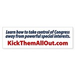 End Special Interest Control of Congress Sticker