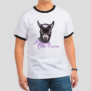 Pygmy Goat Gotta Love 'em Ringer T