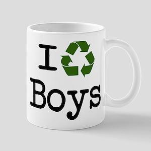 I recycle boys! Mug