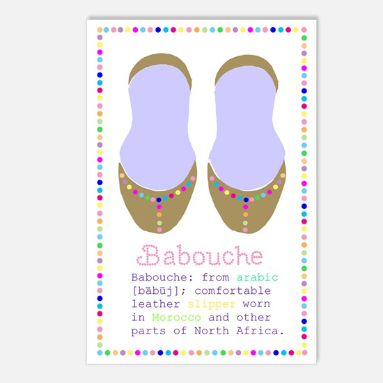 Pom Pom Babouches Postcards (Package of 8)