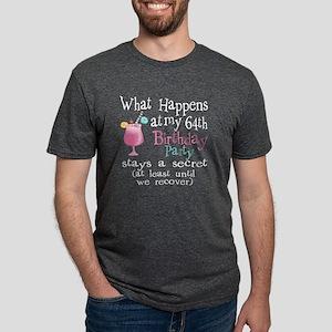 Fun 64th Birthday Party Mens Tri-blend T-Shirt