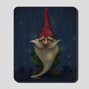 Old Christmas Gnome Mousepad