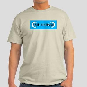 Free Xinjiang Bumper Sticker T-Shirt