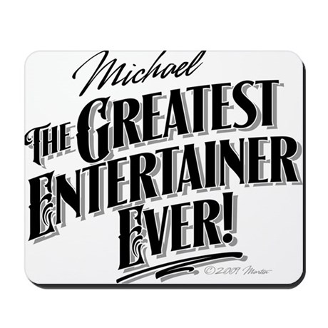 MJ Greatest Mousepad